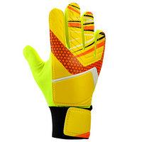 Перчатки вратарские, размер 5, цвет жёлтый