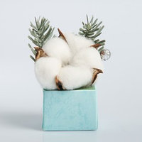 Новогодняя композиция 'Мини букет', природный декор