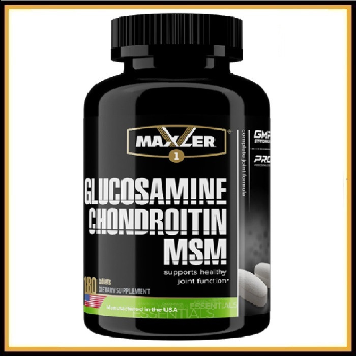 Maxler - Glucosamine Chondroitin MSM - 180 таб