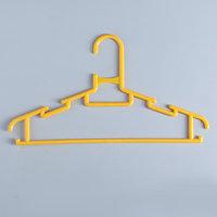 Вешалка-плечики для одежды детская 'Бабочка', размер 30-34, цвет МИКС (комплект из 20 шт.)
