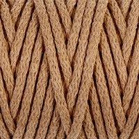 Шнур для вязания 'Пухлый' 100 хлопок ширина 5мм 100м (св.бежевый)