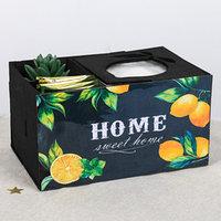 Органайзер для кухонных мелочей с отсеками 'Лимоны'
