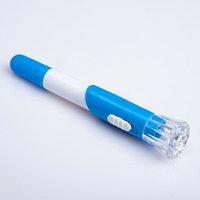 Фонарик с шариковой ручкой, 1 LED, микс, 2х12 см (комплект из 48 шт.)