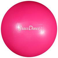 Мяч для художественной гимнастики 16,5 см, 280 г, цвет розовый