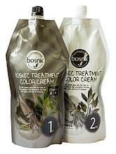 Крем-краска для волос черная Bosnic Treatment Color Cream