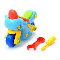 Конструктор для малышей 'Мотоцикл', 27 деталей