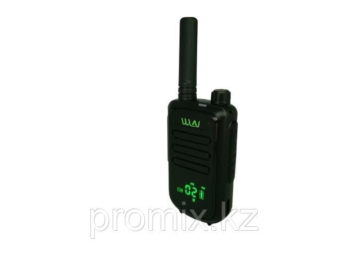 Рация WLN KD-C100 со скрытым дисплеем