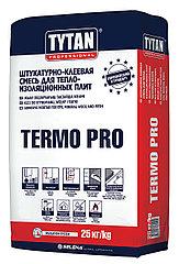 TYTAN TERMO PRO клей для приклеивания пенополистирола и минераловых плит, 25кг