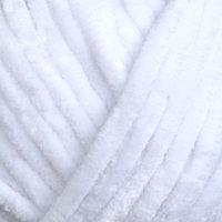 Пряжа 'Dolce' 100 микрополиэстер 120м/100гр (741 белый)