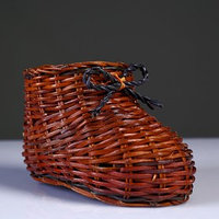 Сувенир 'Ботинок', 9x14x8,5 см, лоза