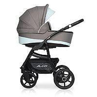 Детская коляска RIKO ALFA Ecco BASIC 2 в 1 (серый-голубой 07)