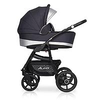 Детская коляска RIKO ALFA Ecco BASIC 2 в 1 (графит-серый 01)