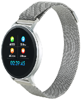 Фитнес браслет Canyon Fit CNS-SW71SS (005030) Silver