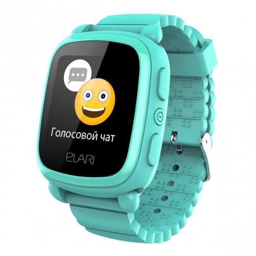 Детские смарт-часы ELARI KidPhone 2 (302438) Green