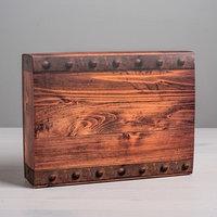 Коробка для сладостей 'Ящик', 20 x 15 x 5 см (комплект из 10 шт.)