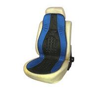 Накидка на сиденье ортопедическая Skyway DRIVE, 115х45 см, черно-синий
