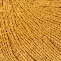 Пряжа 'Baby Cotton' 60 хлопок, 40 полиакрил 165м/50гр (3447 горчица) (комплект из 5 шт.)
