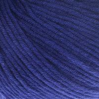 Пряжа 'Baby Cotton XL' 50 хлопок, 50 полиакрил 105м/50гр (3438 т. синий) (комплект из 5 шт.)