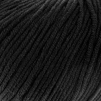 Пряжа 'Baby Cotton XL' 50 хлопок, 50 полиакрил 105м/50гр (3433 чёрный) (комплект из 5 шт.)