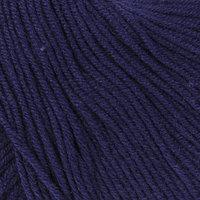Пряжа 'Baby Cotton' 60 хлопок, 40 полиакрил 165м/50гр (3438 т. синий) (комплект из 5 шт.)