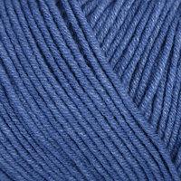 Пряжа 'Jeans' 55 хлопок, 45 акрил 160м/50гр (17 синий)