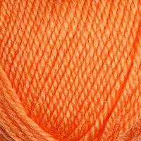 Пряжа 'Бамбино' 35 шерсть меринос, 65 акрил 150м/50гр (035, оранж.)