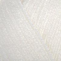 Пряжа 'Baby' 100 акрил 150м/50гр (501 белый) (комплект из 5 шт.)