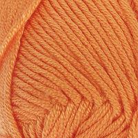 Пряжа 'Saten 50' 100 микроакрил 115м/50гр (10157 апельсин) (комплект из 5 шт.)