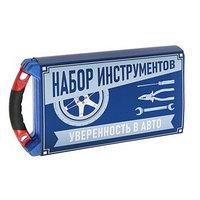 Набор инструментов в кейсе TUNDRA, подарочная упаковка, CrV, 1/2', 23 предмета