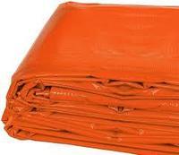 Огнеупорное брезентовое покрытие / Tarpaulin PVC orange