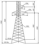 Промежуточные металлические опоры ВЛ 110кВ типа ПС110, П110, фото 5