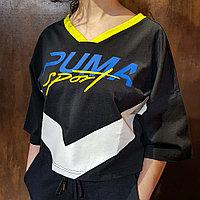 Футболка Puma XTreme Cropped V-Neck 85329701 размер: S