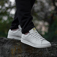 Кроссовки Adidas Stan Smith Premium White Tint S18 Gold Met. B37900 размер: 44,5