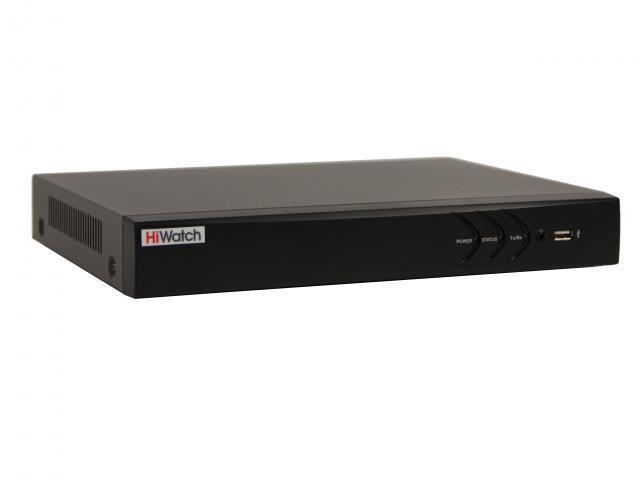Гибридный HD-TVI видеорегистратор HiWatch DS-H216UA