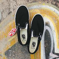 Слипоны Vans UA Classic Slip-On Black VEYEBLK размер: 39