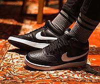 Кроссовки Nike Court Vision Mid Black CD5466-001 размер: 41