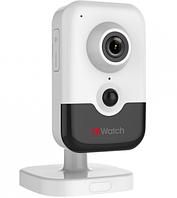 Кубическая IP видеокамера HiWatch DS-I214W (WiFi)