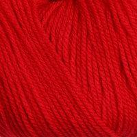 Пряжа 'Карамелька' 100 акрил 175м/50гр (046 красный) (комплект из 10 шт.)