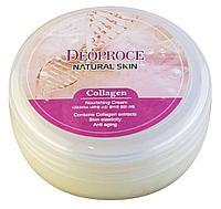 Питательный крем с коллагеном Deoproce Natural Skin Collagen Nourishing Cream