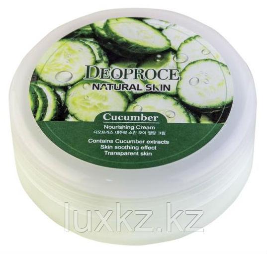 Питательный крем с экстрактом огурца Deoproce Natural Skin Cucumber Nourishing Cream
