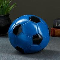 Копилка 'Мяч' 15см сине-черный