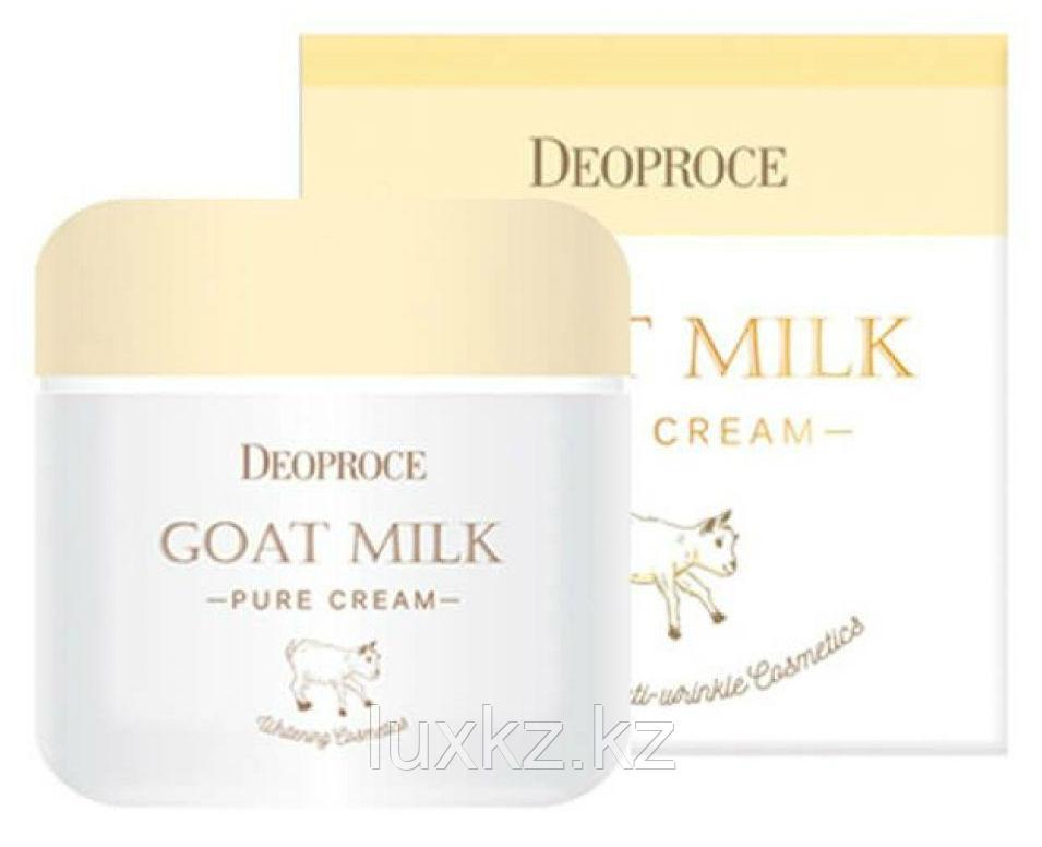 Дневной крем на основе козьего молока Deoproce Goat Milk Pure Cream