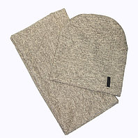 Шапка+снуд конверт Fashion трикотаж