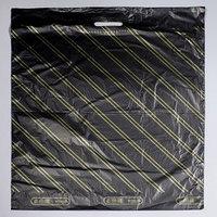 Пакет 'Золотая полоса', полиэтиленовый с вырубной ручкой, 60 х 70 см, 40 мкм (комплект из 25 шт.)
