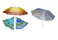 Пляжный зонт с наклоном Anti-UV диаметр 2м, фото 1