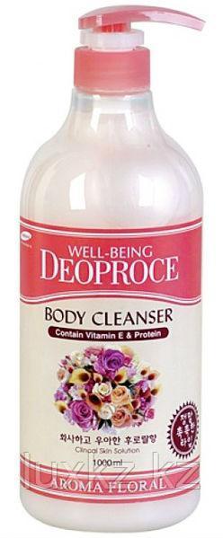Гель для душа цветочный Deoproce Well-Being Aroma Body Cleanser Floral
