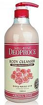 Гель для душа с розовым экстрактом Deoproce Well-Being Aroma Body Cleanser Rose
