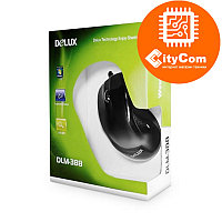Мышь Delux DLM-388, проводная оптическая, 800dpi, черная, USB Арт.1546