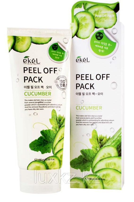 Маска-пленка с экстрактом огурца Ekel Peel Off Pack Cucumber