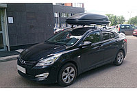 Автобокс чёрный Koffer Bonus черный 169х79х44 см, фото 1